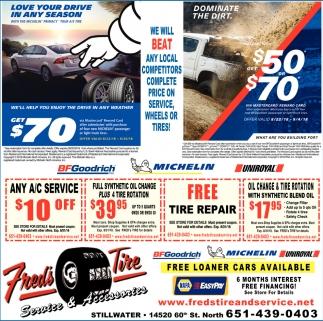 FREE Loaner Cars Availble