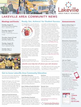 Lakeville Area Community News