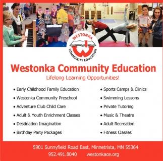 Lifelong Learning Opportunities!