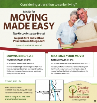 Join Us for Moving Made Easy