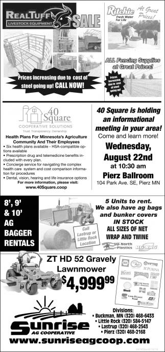 RealTuff Livestock Equipment Sale