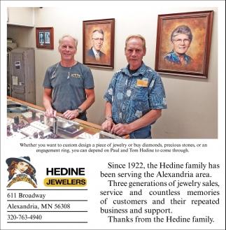 Hedine Jewelers