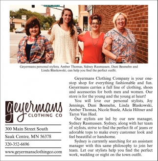 Geyermans Clothing