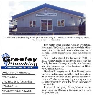 Greeley Plumbing