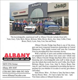 Albany Chrysler Cente