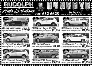 Auto Sales, Service & Detailing