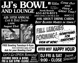 Bowl and Lounge