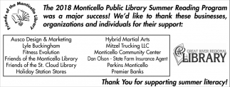 Thank You for Supporting Summer Literacy!