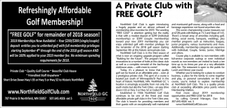 Refreshingly Affordable Golf Membership