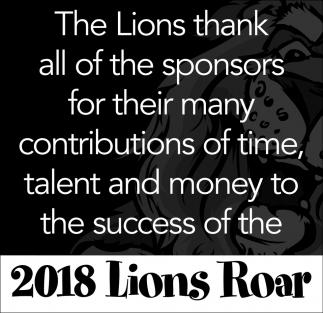 2018 Lions Roar