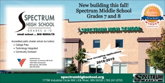 New Building this Fall!