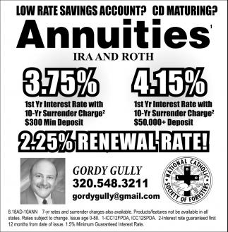 2.25% Renewal Rate!