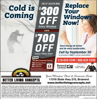 Replace Your Windows Now!