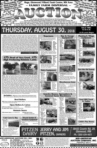 Family Farm Dispersal Auction