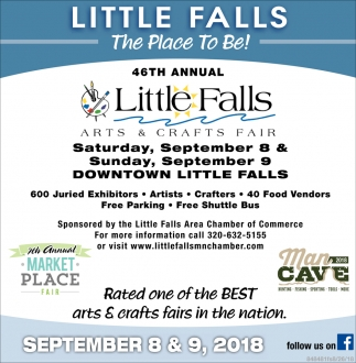 services little falls arts craft fair