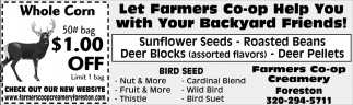 Let Farmers Co-Op Help You with Your Backyard Friends!