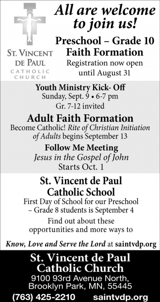 All are Welcome to Join Us!