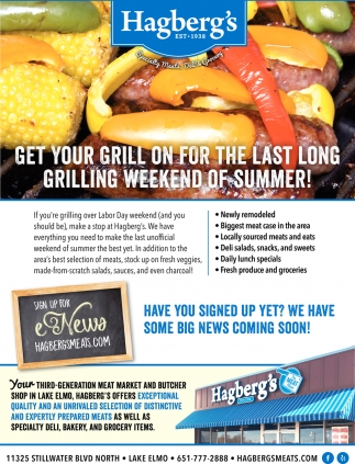 Get Your Grill On For The Last Long Grilling Weekend Of Summer!