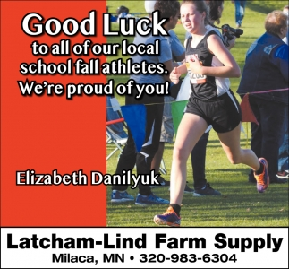 Good Luck to All of Our Local School Fall Athletes, We're Proud of You!