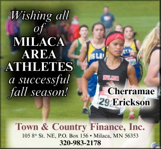 Wishing All of Milaca Area Ahtletes a Successful Fall Season!