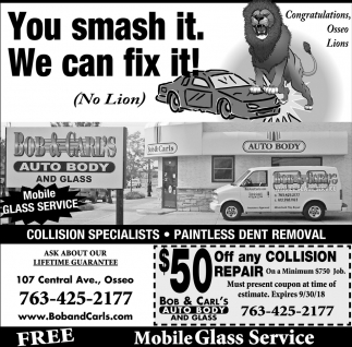 You Smash it. We Can Fix it!