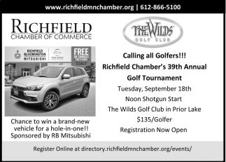 CAlling All Golfers!