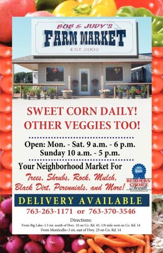 Sweet Corn is Here!