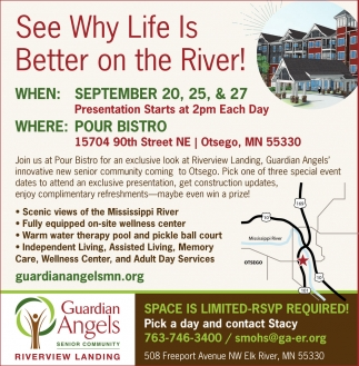 See why Life is Better on the River!