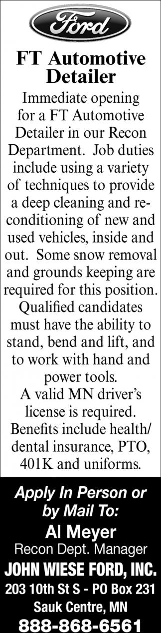 FT Automotive Detailer