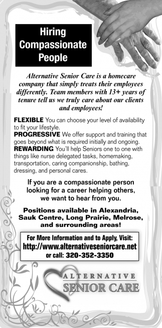 Hiring Compassionate People