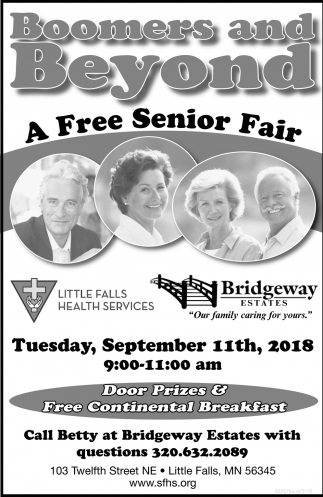 Boomers and Beyond a Free Senior Fair