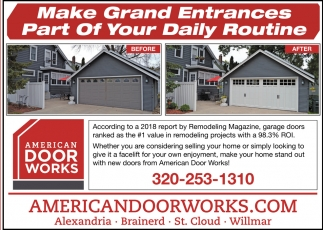 Make Grand Entrances Part of Your Daily Routine