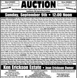 Ken Erickson Estate