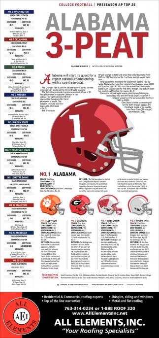 Alabama 3-Peat