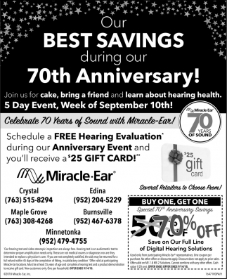 Schedule a FREE Hearing Evaluation
