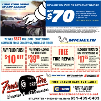 We Will Beat Any Local Compettitors Complete Price on Service, Wheels on Tires!