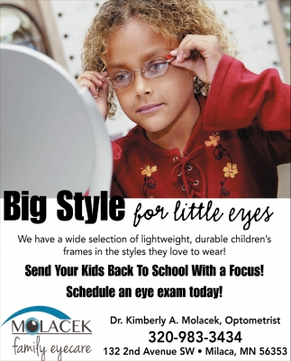Big Style for Little Eyes