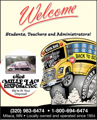 Welcome Students, Teachers and Administrators!