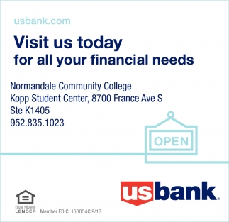 Visit us Today for All Your Financial Needs