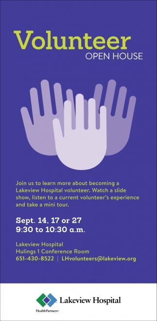 Volunteer Open House