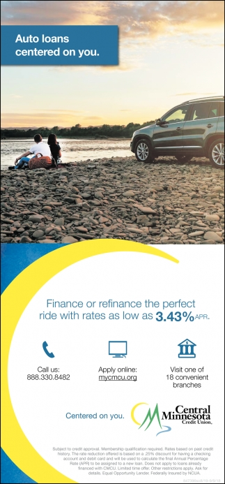 Auto Loans Centered on You
