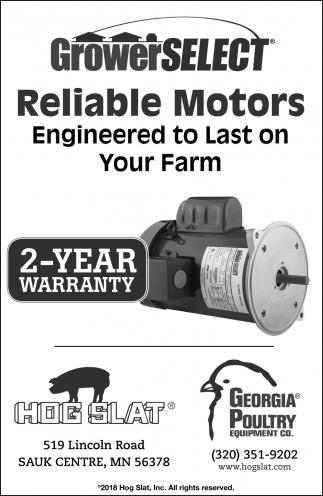 2-Year Warranty, Hog Slat, Sauk Centre, MN