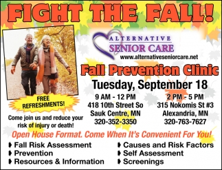 Fall Prevention Clinic