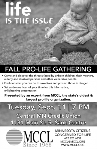 Fall Pro-Life Gathering