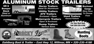Aluminum Stock Trailers