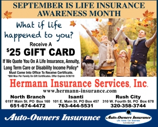 September is Life Insurance Awareness Month