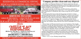 Residential & Commercial Serving Milaca & Surrounding Area Since 1954