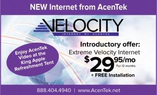 New Internet from Acentek