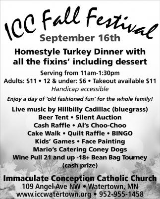 ICC Fall Festival