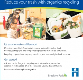 Reduce Your Trash with Organics Recycling